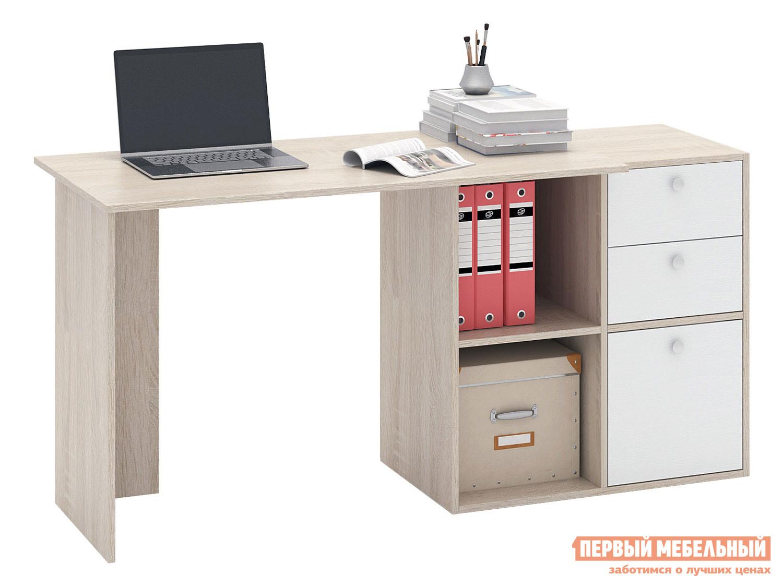 Письменный стол  Прайм-48 Дуб Сонома / Белый МФ Мастер 129014