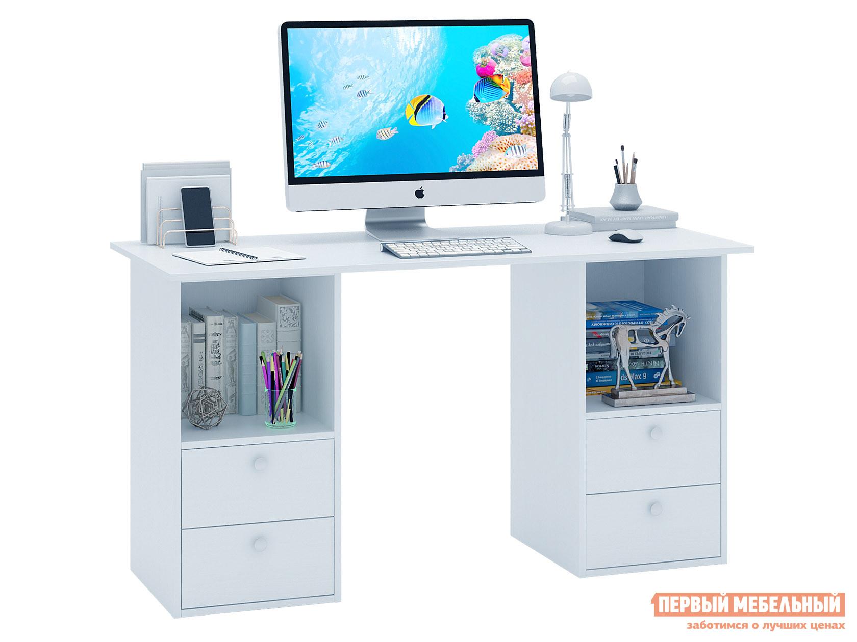 Письменный стол  Прайм-61 Белый МФ Мастер 129045