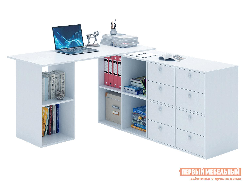 Письменный стол  Прайм-81 Белый МФ Мастер 129178