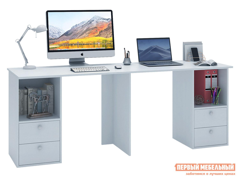 Письменный стол  Прайм-87 Белый МФ Мастер 129220