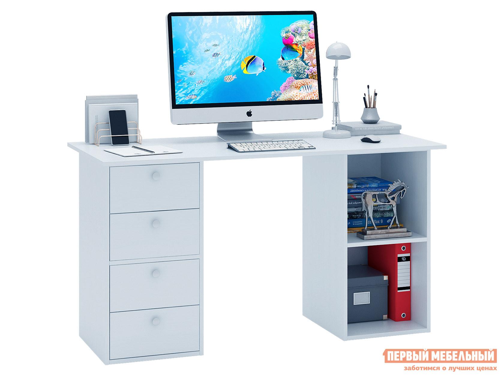 Письменный стол  Прайм-63 Белый МФ Мастер 129060