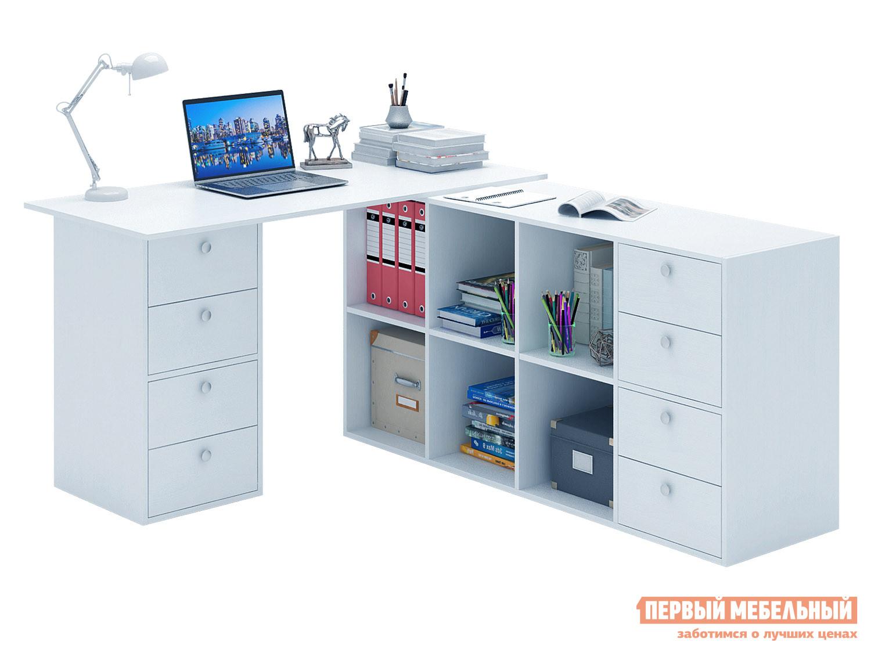 Письменный стол  Прайм-82 Белый МФ Мастер 129185