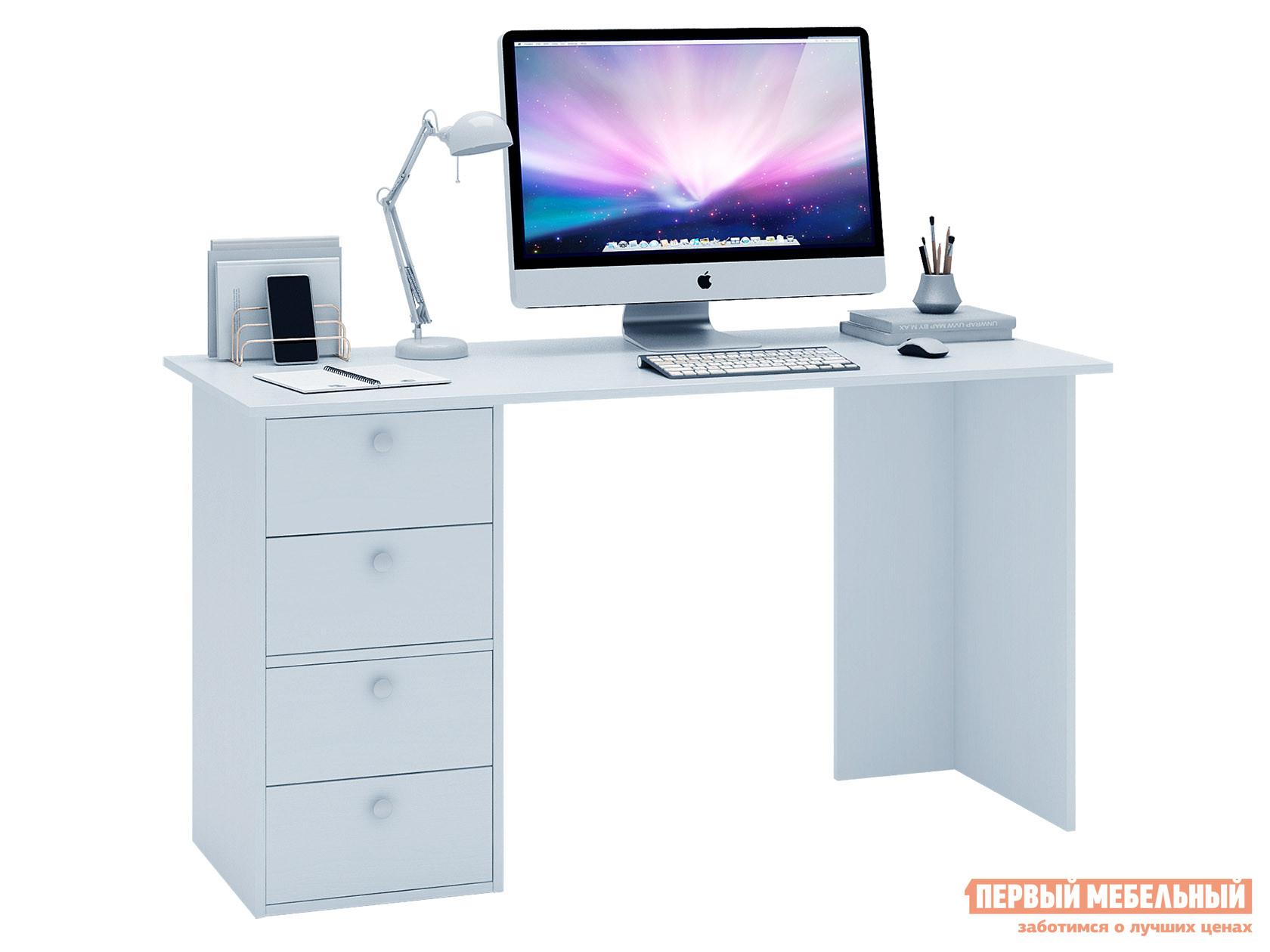 Письменный стол  Прайм-55 Белый МФ Мастер 129015