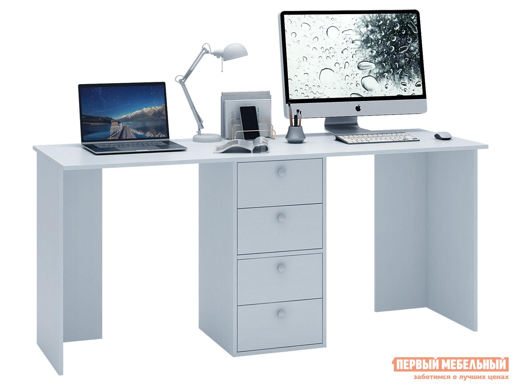 Письменный стол  Прайм-85 Белый МФ Мастер 129206