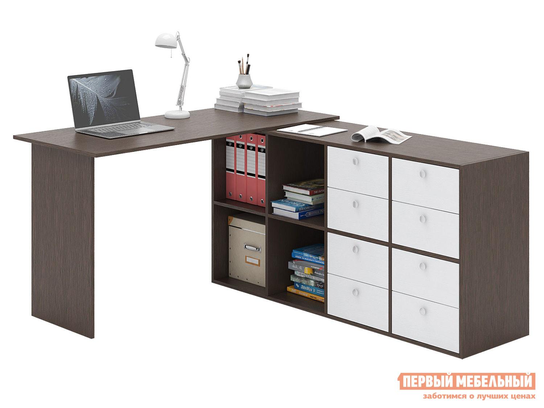 Письменный стол  Прайм-71 Венге / Белый МФ Мастер 129115