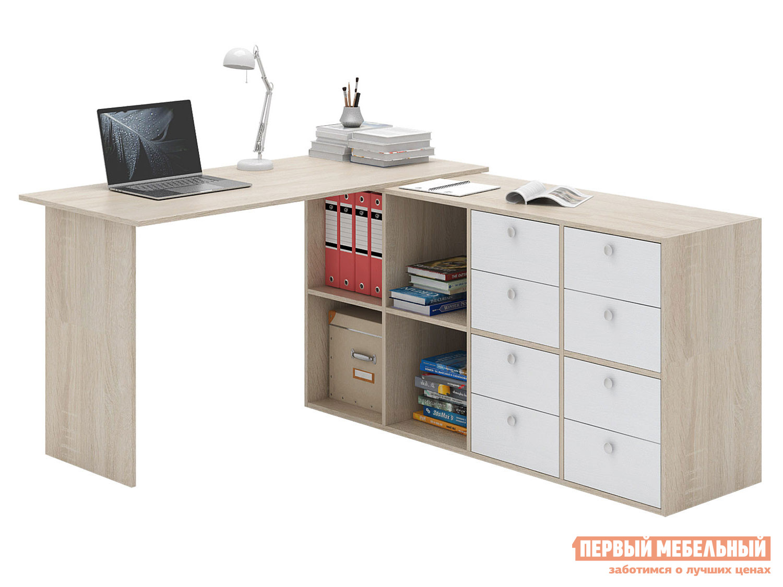 Письменный стол  Прайм-71 Дуб Сонома / Белый МФ Мастер 129119
