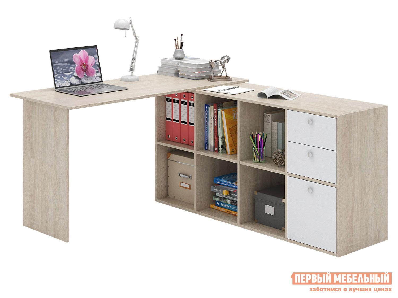 Письменный стол  Прайм-74 Дуб Сонома / Белый МФ Мастер 129142