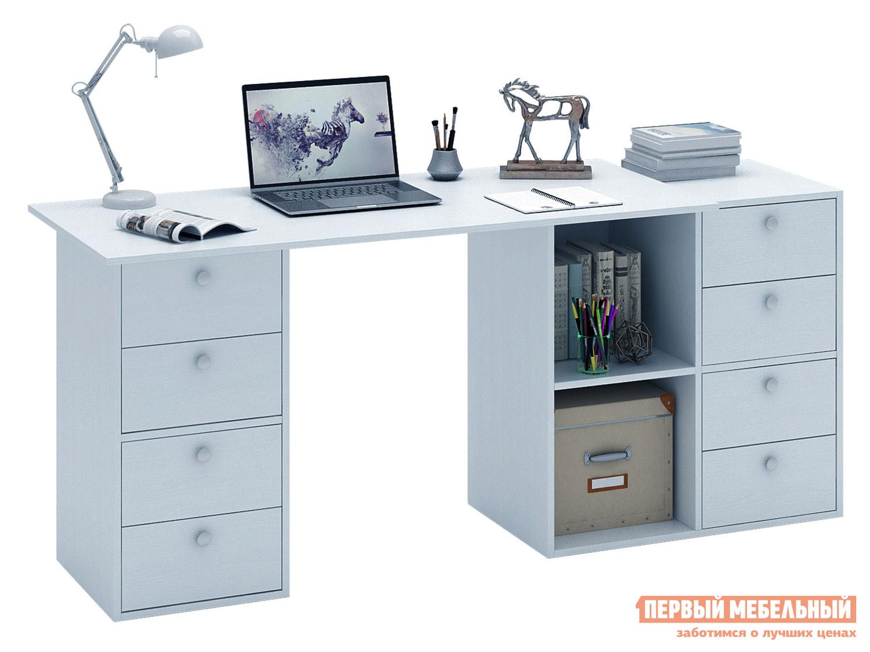 Письменный стол  Прайм-76 Белый МФ Мастер 129143