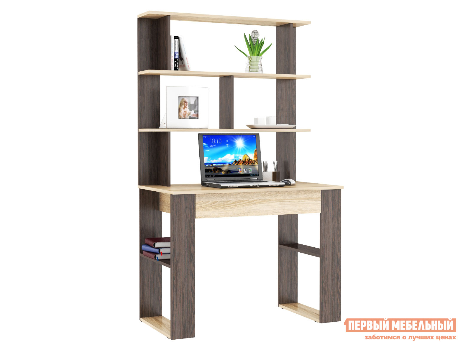 Письменный стол Первый Мебельный Стол письменный Смарт 1