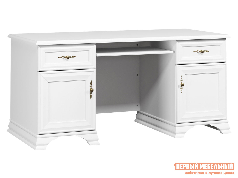 Письменный стол  Стол письменный Кентаки Белый — Стол письменный Кентаки Белый