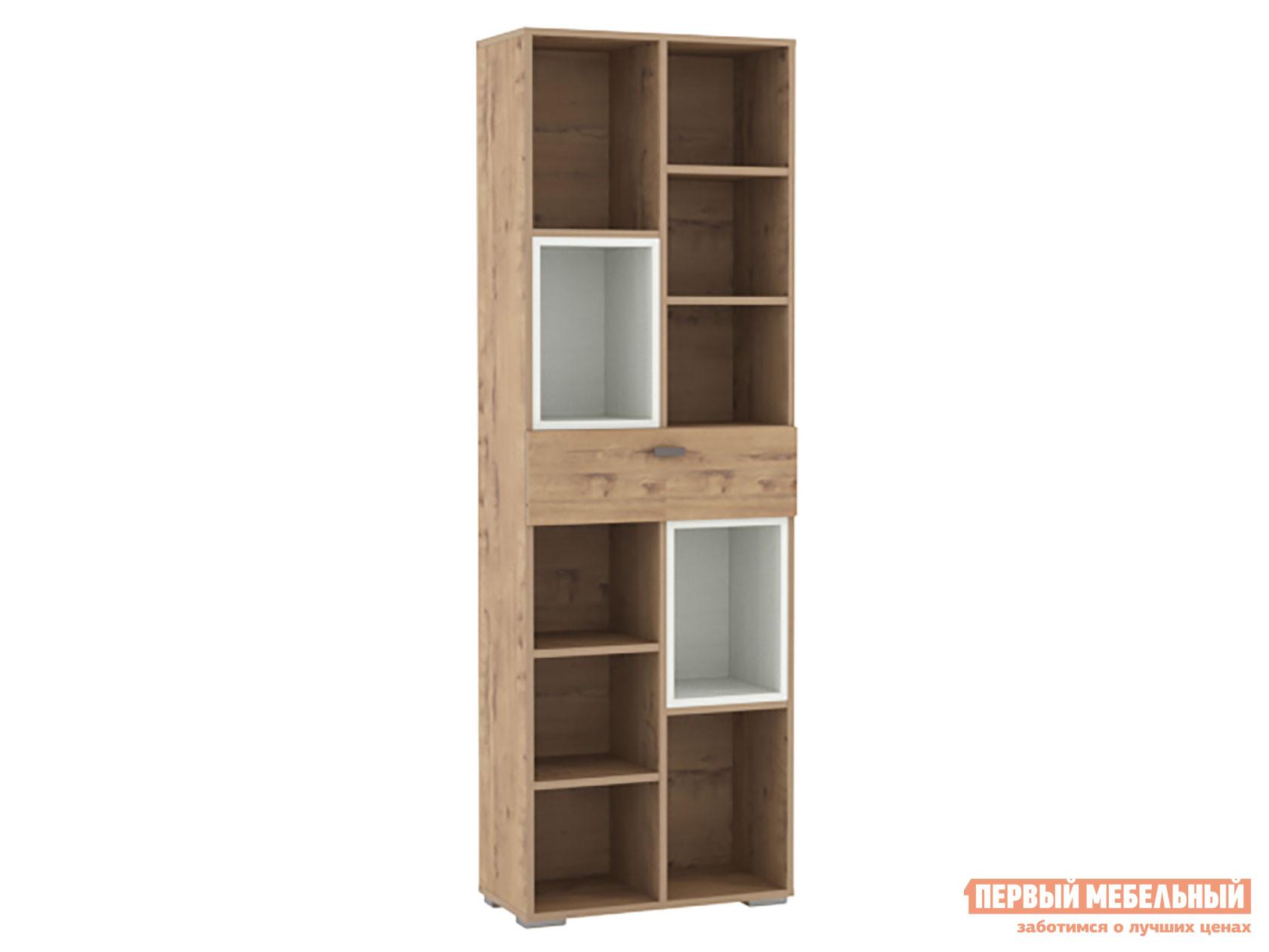 Стеллаж Первый Мебельный Стеллаж Сноу Вуд 011.94