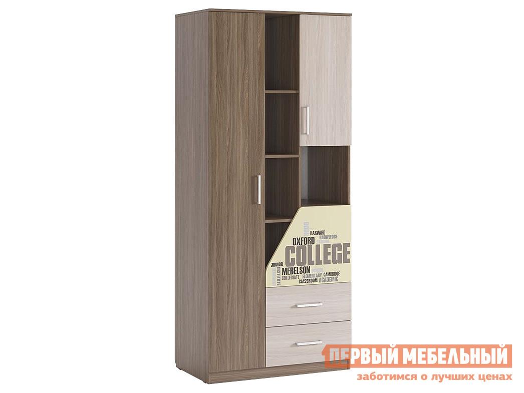 Комбинированный шкаф Первый Мебельный Колледж Шкаф комбинированный