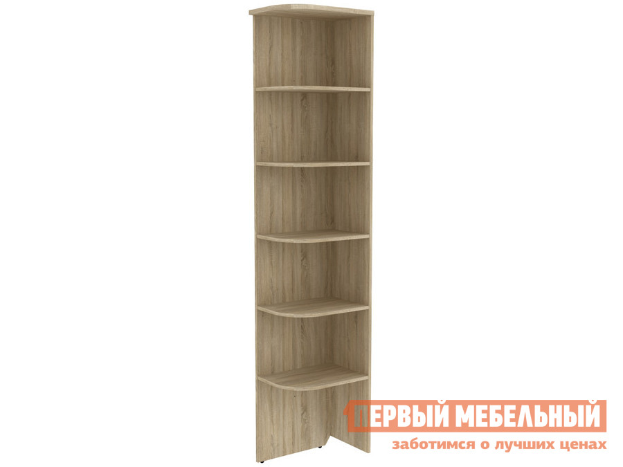Стеллаж угловой Первый Мебельный Мерлен 300
