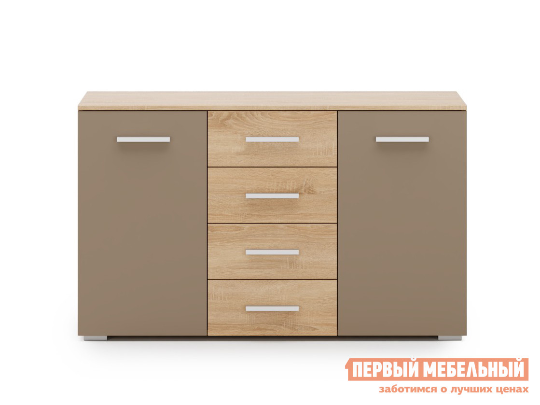 все цены на Комод Первый Мебельный Комод Браун 3 онлайн