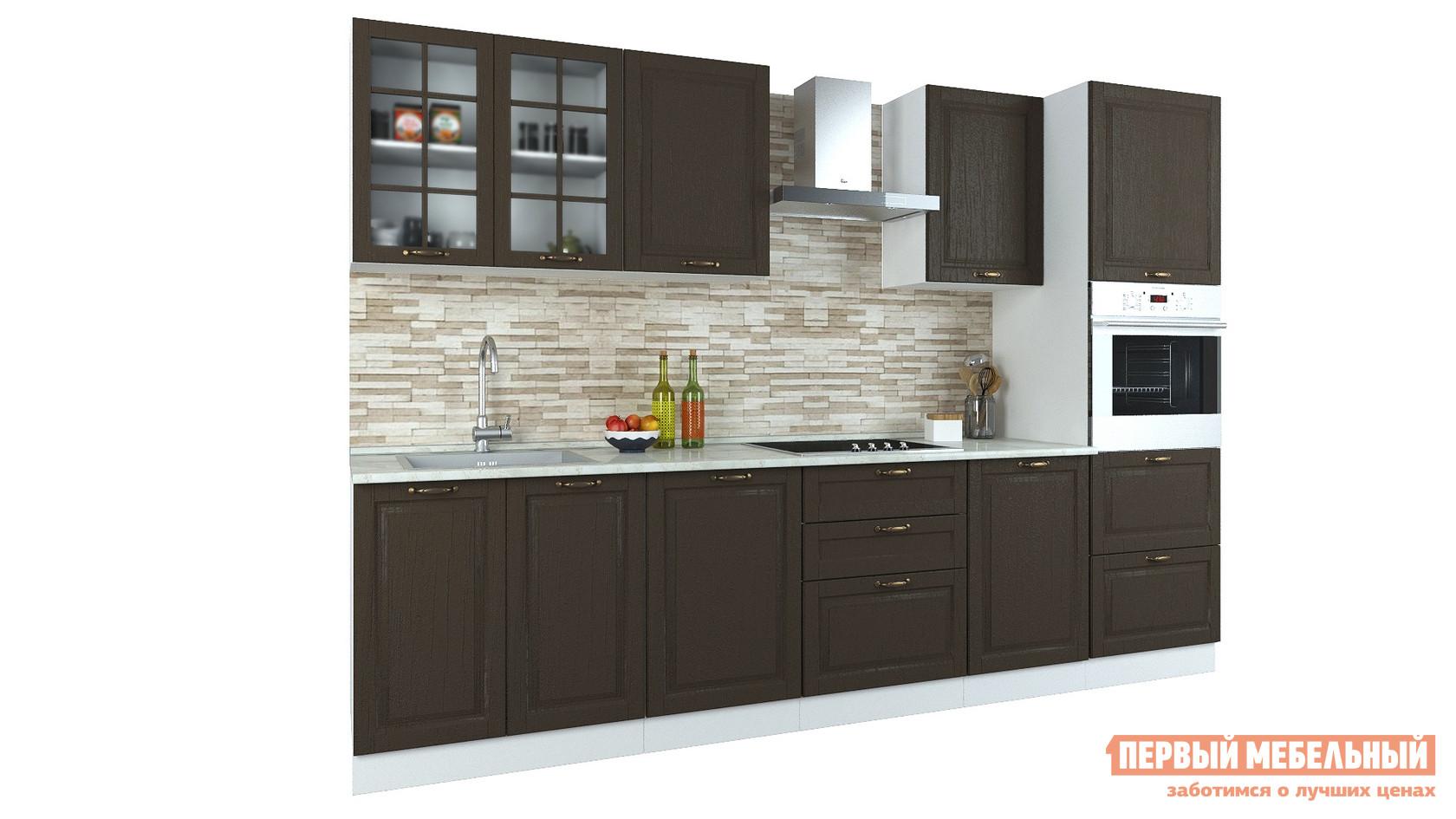 Прямой кухонный гарнитур Первый Мебельный Кухня Палермо 3 м