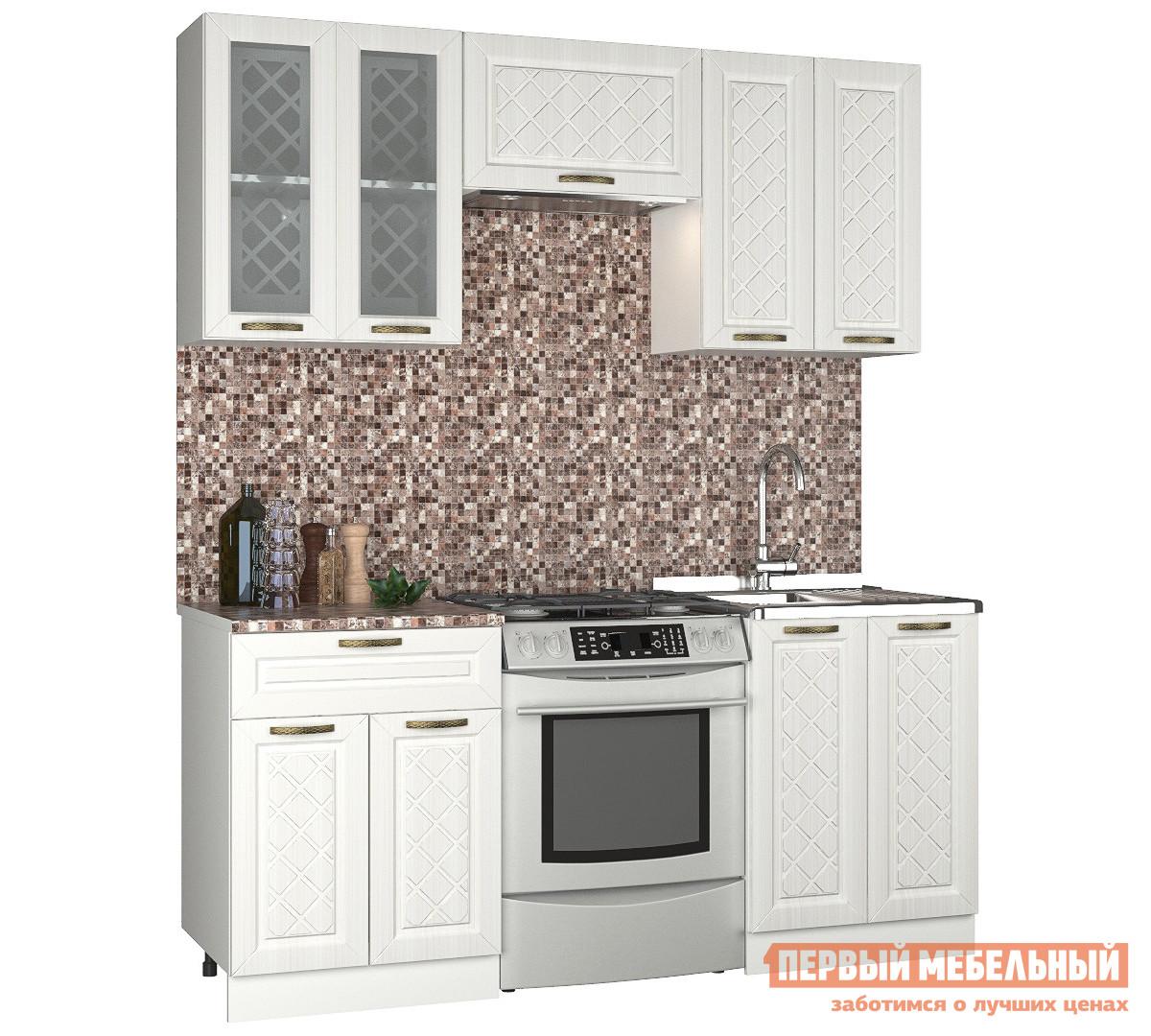 Прямой кухонный гарнитур Первый Мебельный Агава 1.8 м