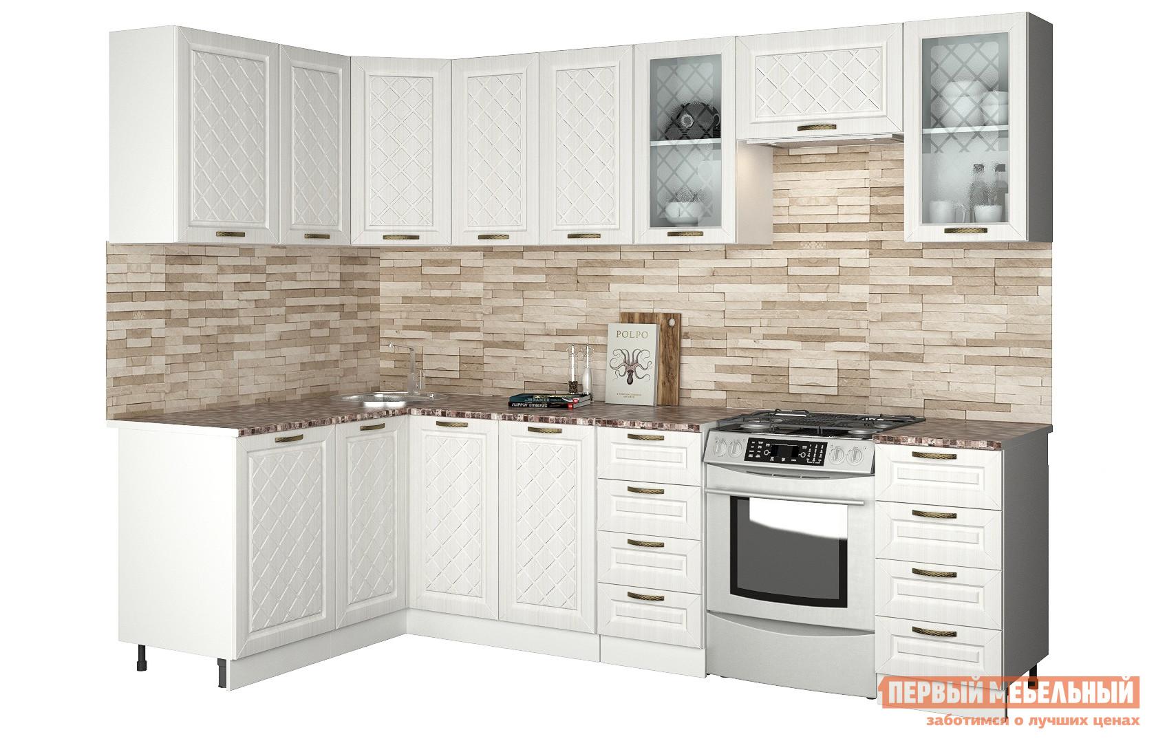 Угловой кухонный гарнитур Первый Мебельный Агава угловая 2.8 х 1.4 м