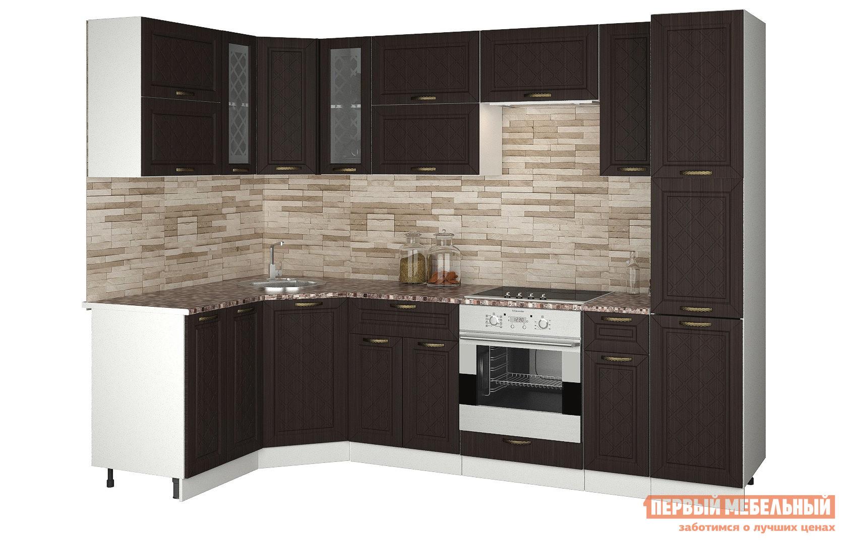 Угловой кухонный гарнитур Первый Мебельный Агава угловая 2.75 х 1.45 м