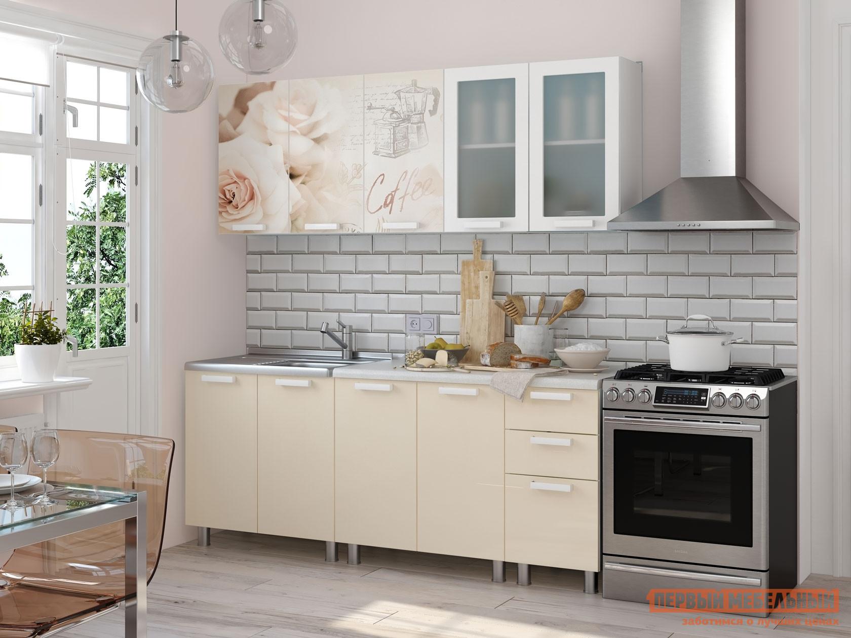 Кухонный гарнитур Первый Мебельный Латте