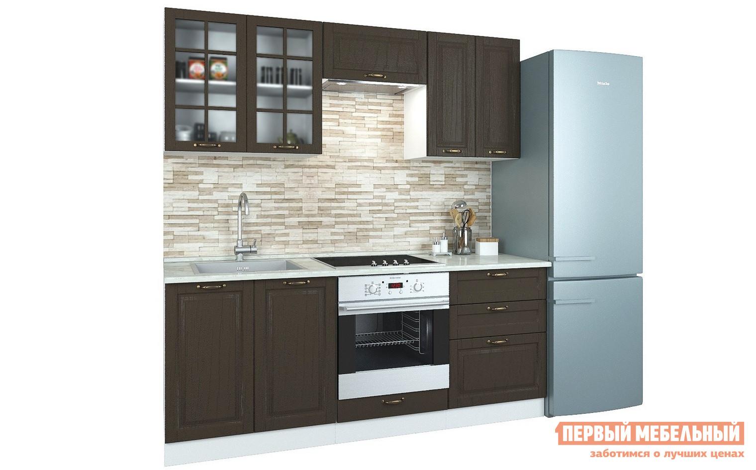 Прямой кухонный гарнитур Первый Мебельный Кухня Палермо 2 м кухонный гарнитур витра палермо 300 2