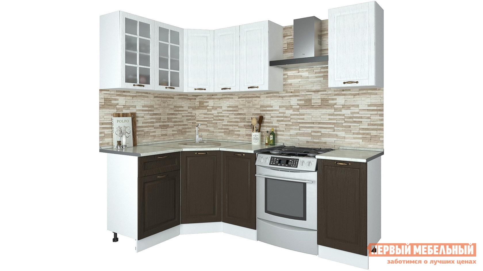 Угловой кухонный гарнитур Первый Мебельный Кухня Палермо 1,65х1,35 м