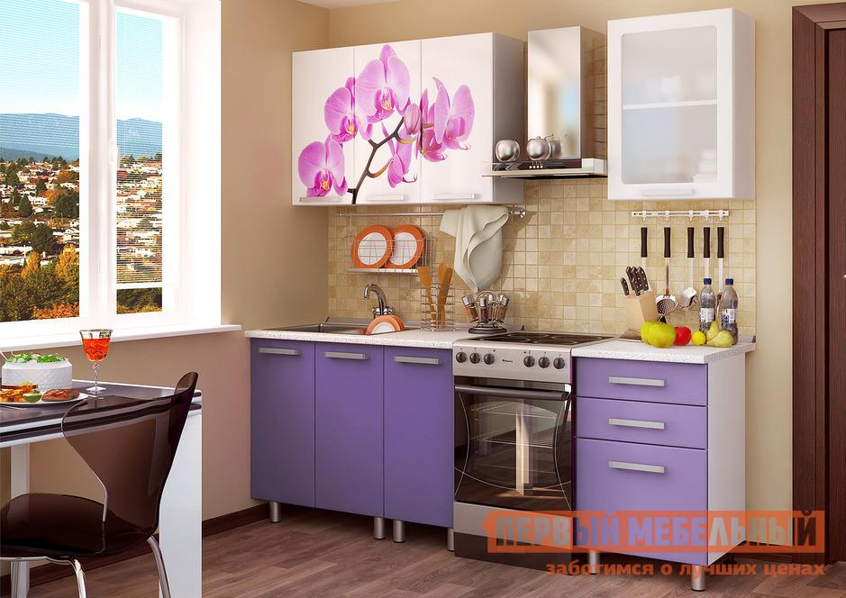 Кухонный гарнитур Первый Мебельный Орхидея 160 см кухонный гарнитур трия фэнтези 150 см