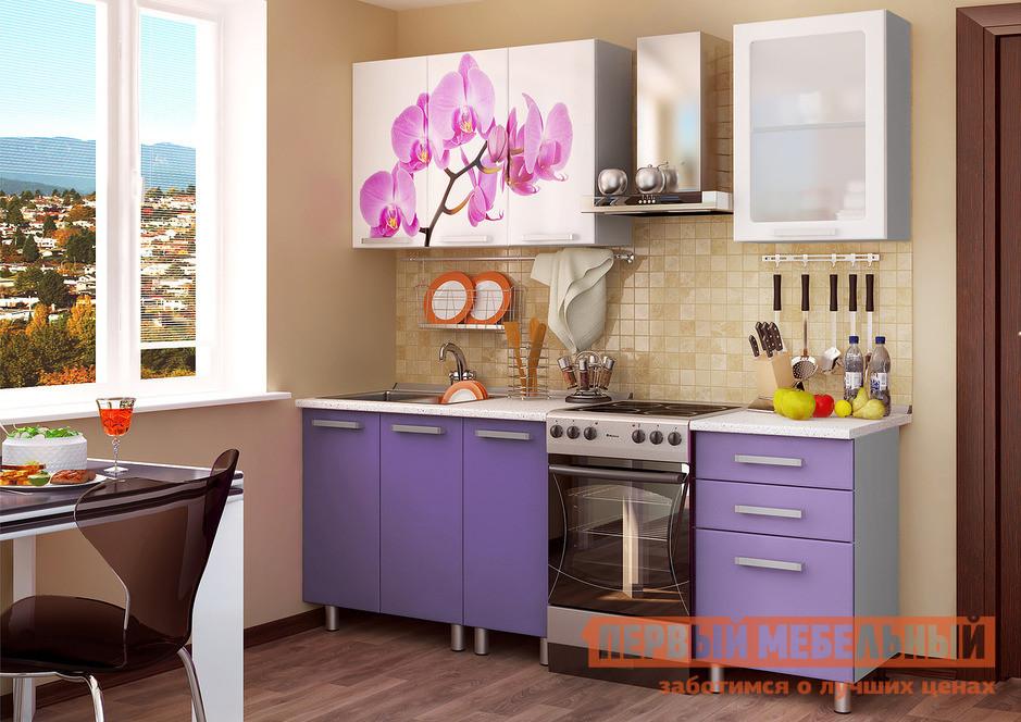 Кухонный гарнитур Первый Мебельный Орхидея 160 см