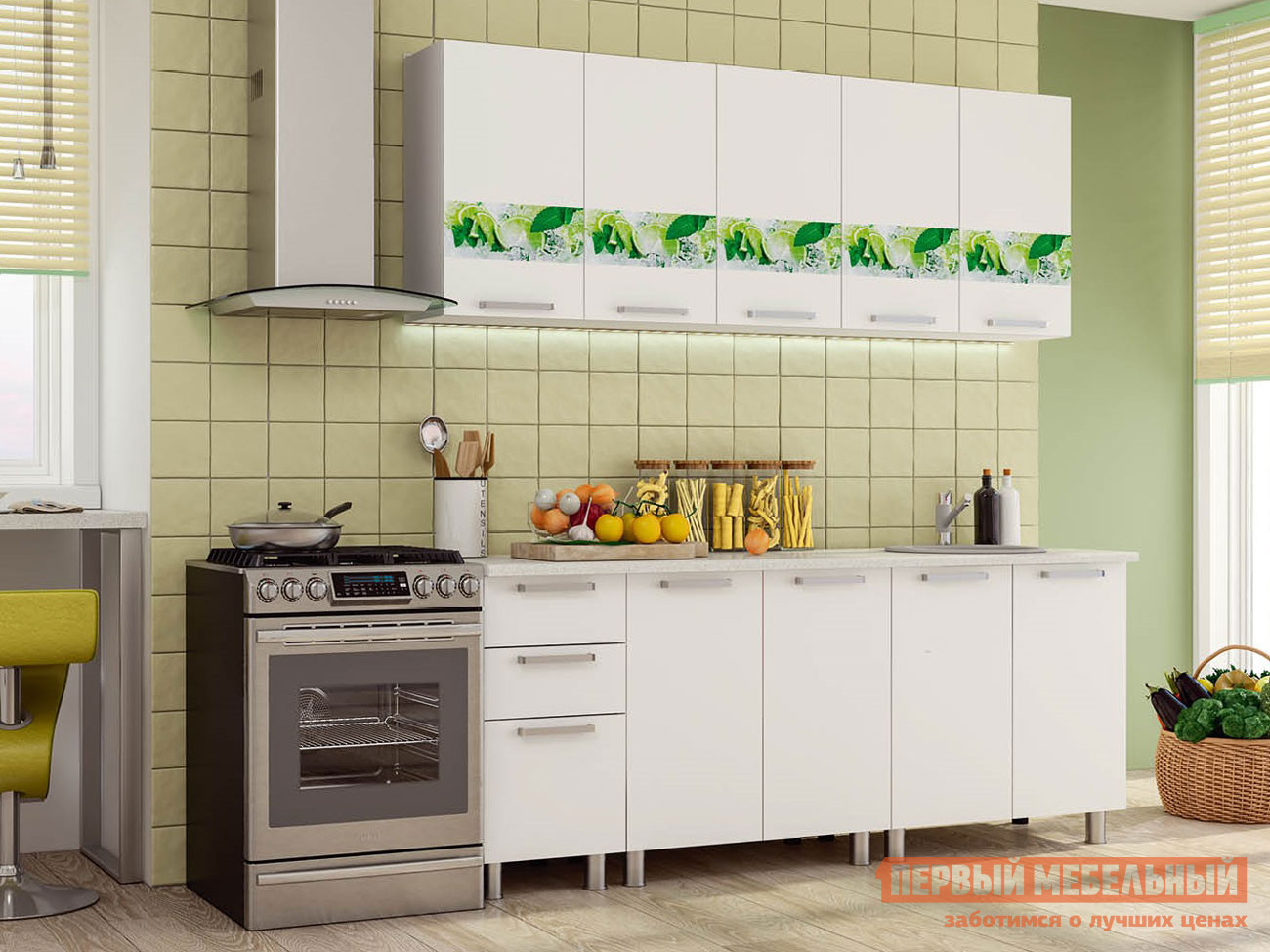 Кухонный гарнитур Первый Мебельный Скарлетт