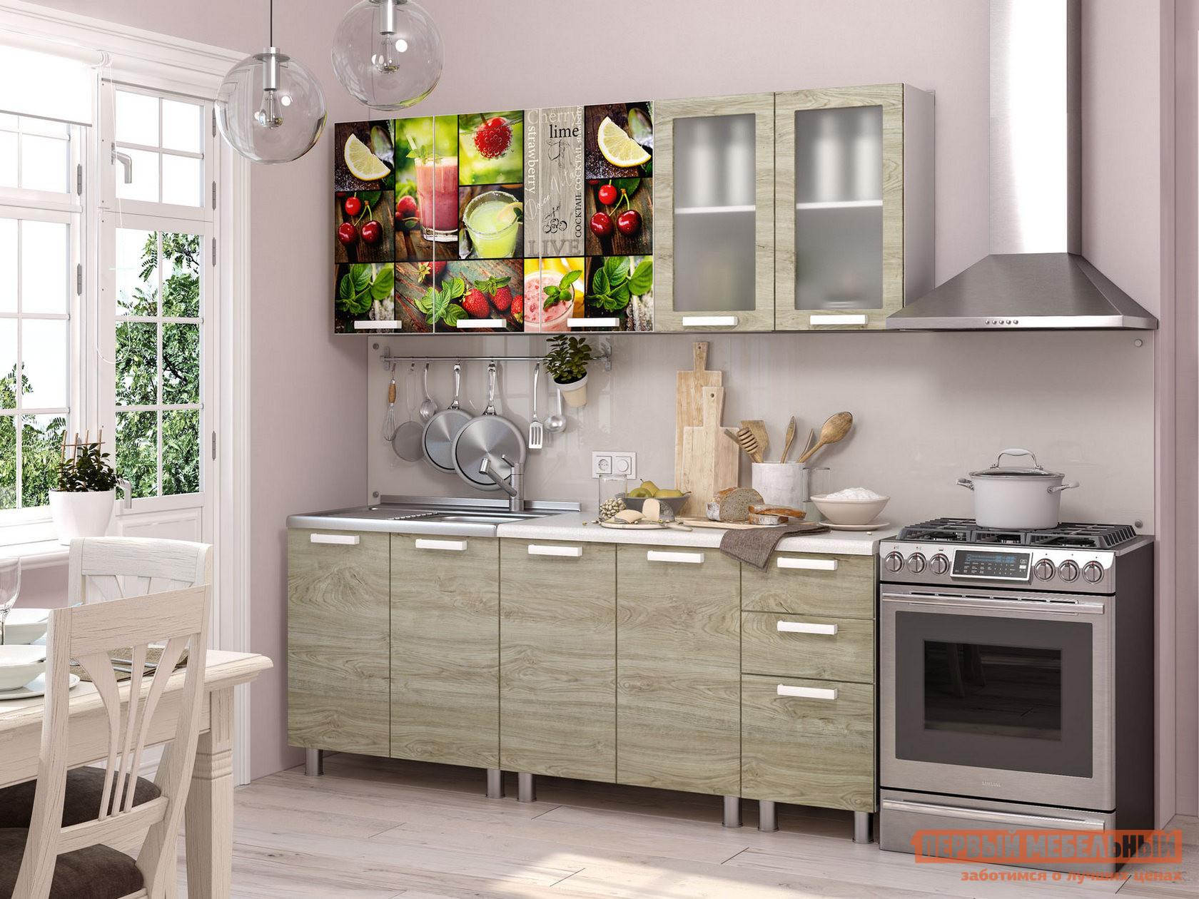 Кухонный гарнитур Первый Мебельный Санрайс