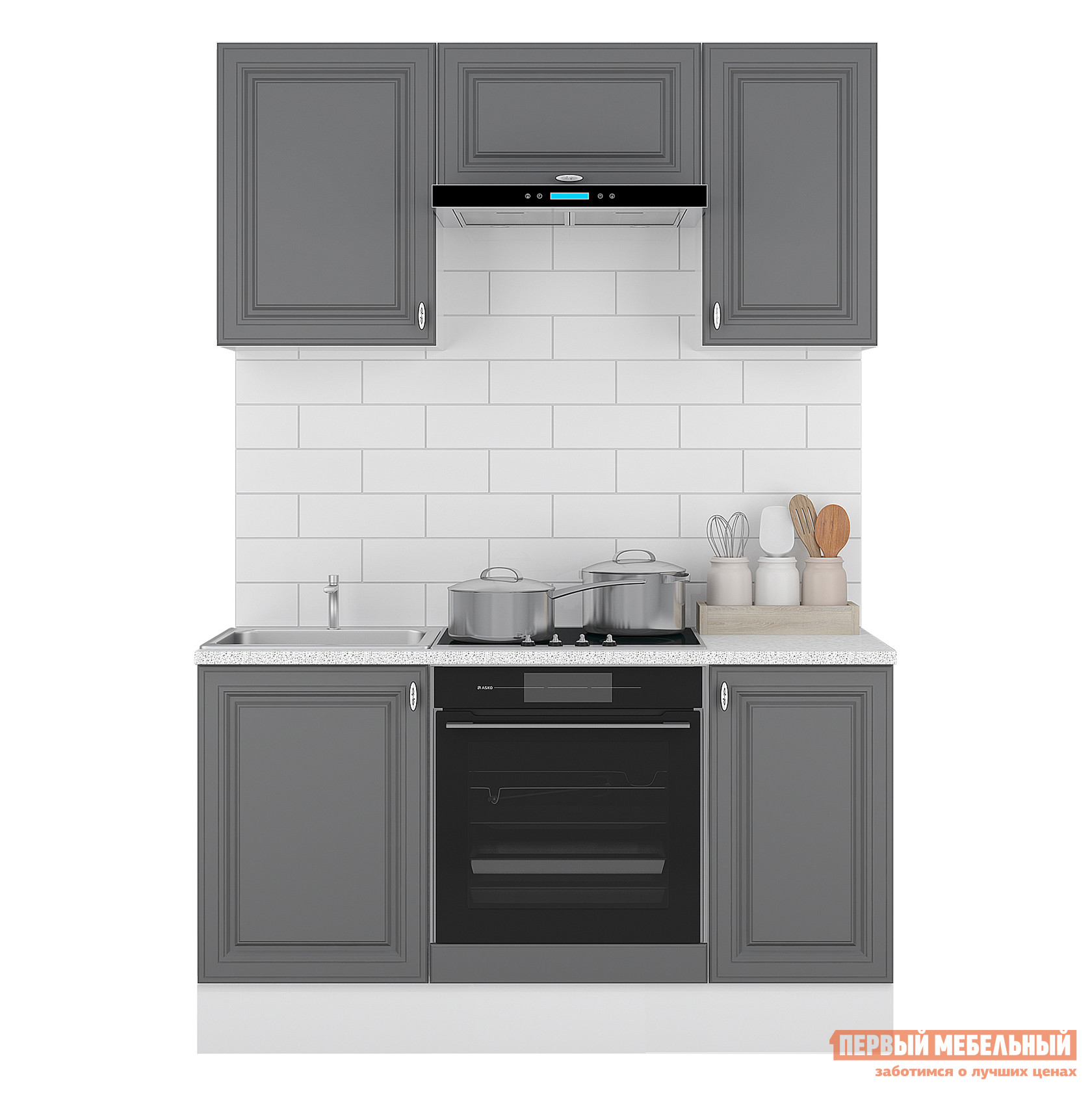 Кухонный гарнитур Первый Мебельный Кухня Ева 150 см