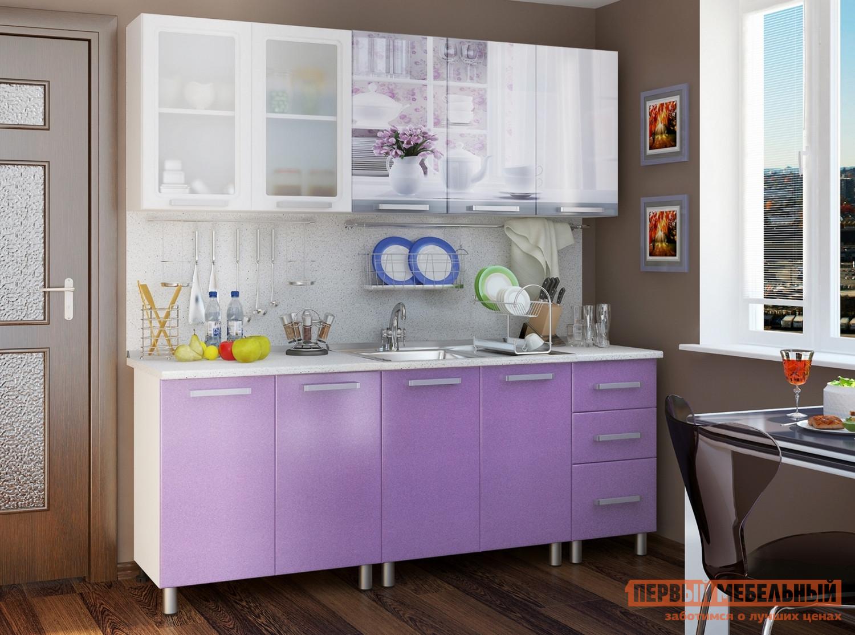 Кухонный гарнитур Первый Мебельный Акварель Люкс 200 см кухонный гарнитур трия оливия 180 см