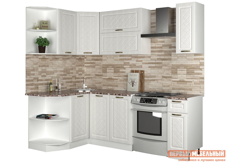 где купить Угловой кухонный гарнитур Первый Мебельный Агава угловая 1.7 х 1.4 м дешево