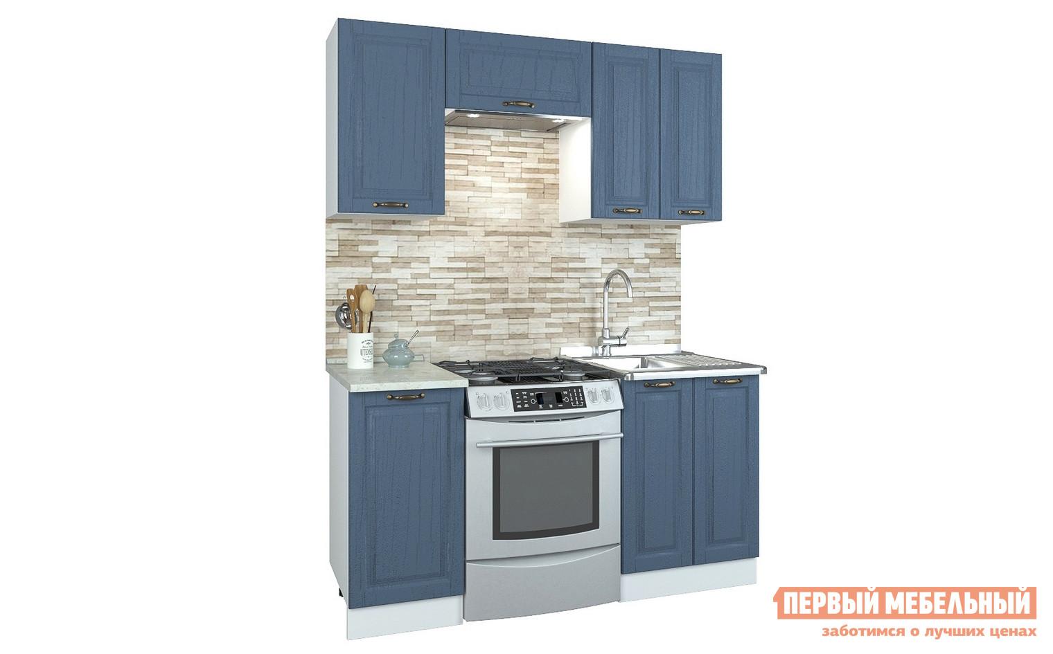 Прямой кухонный гарнитур Первый Мебельный Кухня Палермо 1,6 м кухонный гарнитур витра палермо 300 2