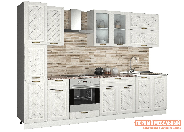 Прямой кухонный гарнитур Первый Мебельный Агава 3 м