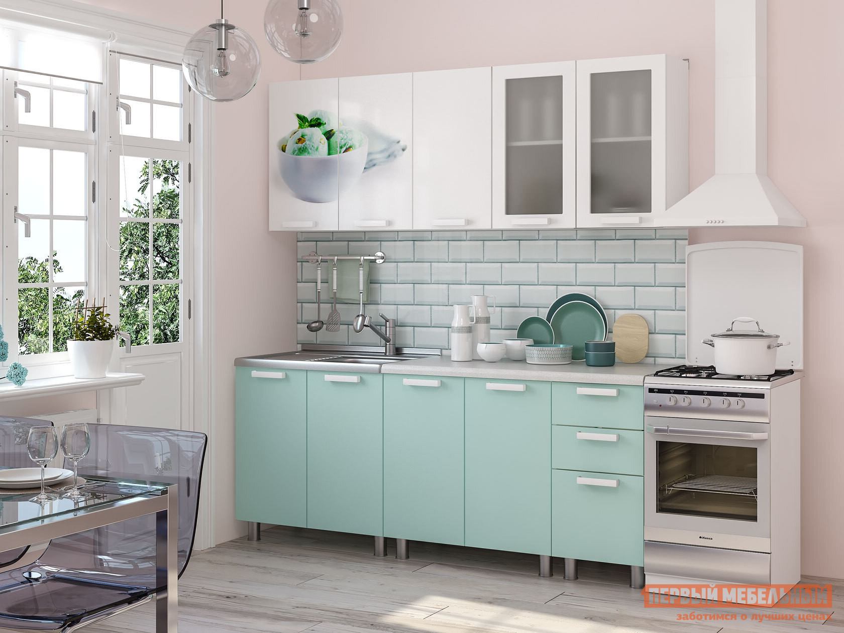 Кухонный гарнитур Первый Мебельный Кенди