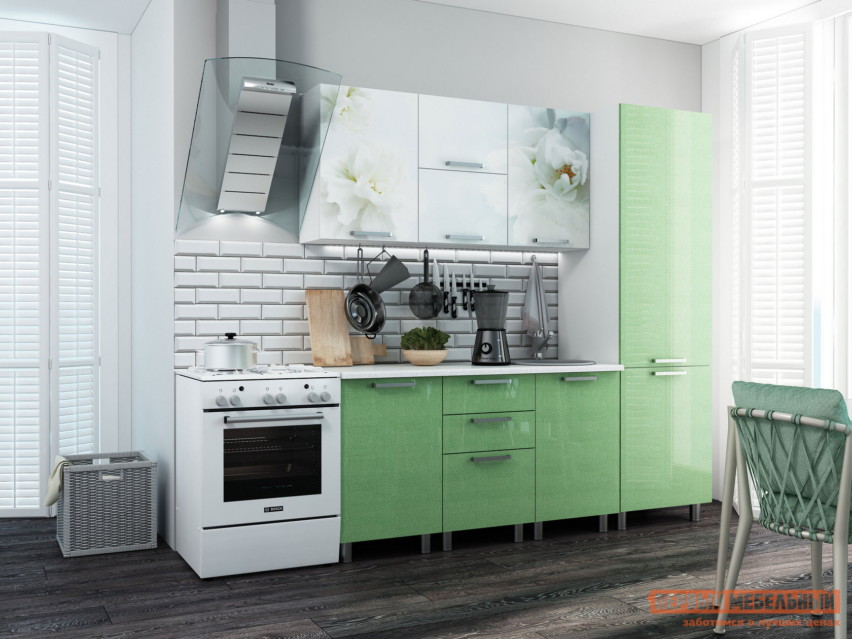 Кухонный гарнитур Первый Мебельный Бьянка