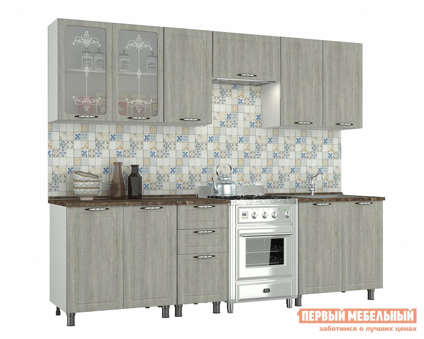 Кухонный гарнитур Первый Мебельный Прованс 2,5 м k1491 2sk1491 to 3p