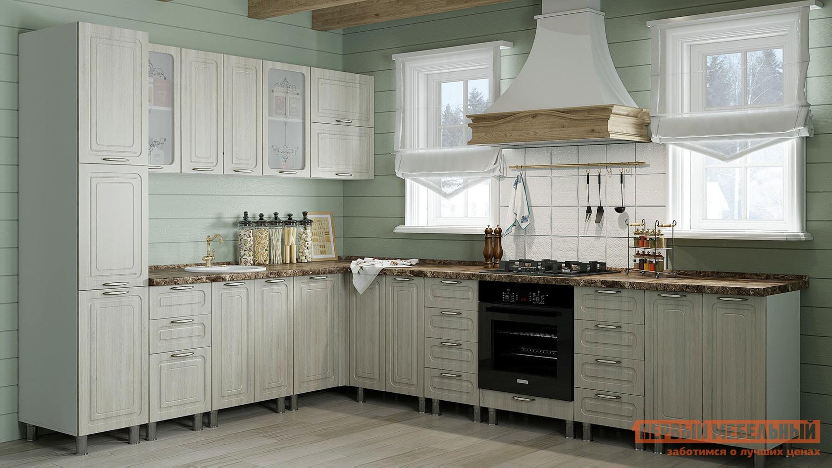 Кухонный гарнитур Первый Мебельный Прованс 320 х 240 см кухонный гарнитур витра аврора 240