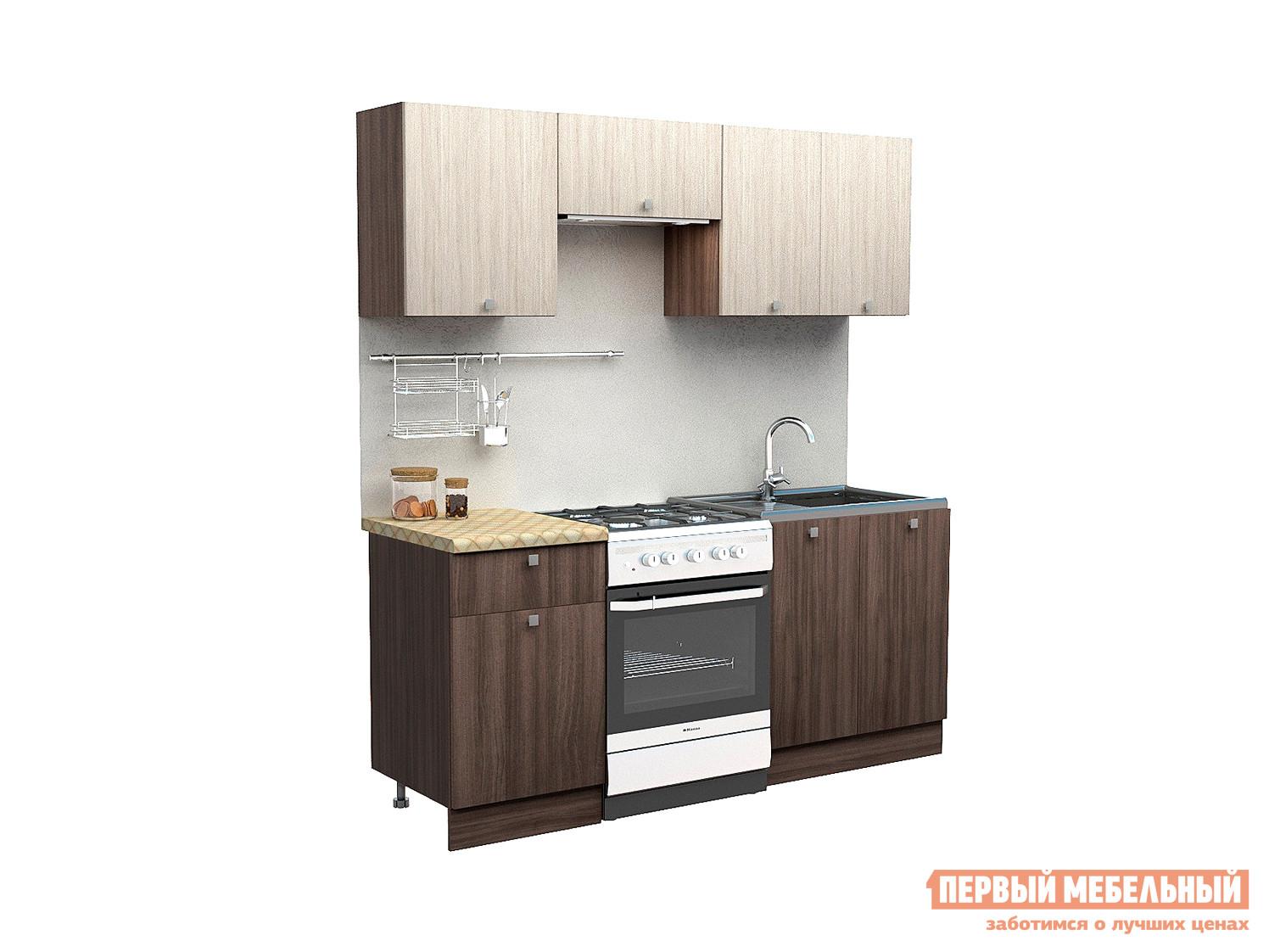 все цены на Прямой кухонный гарнитур Первый Мебельный Дели 1.9 м онлайн