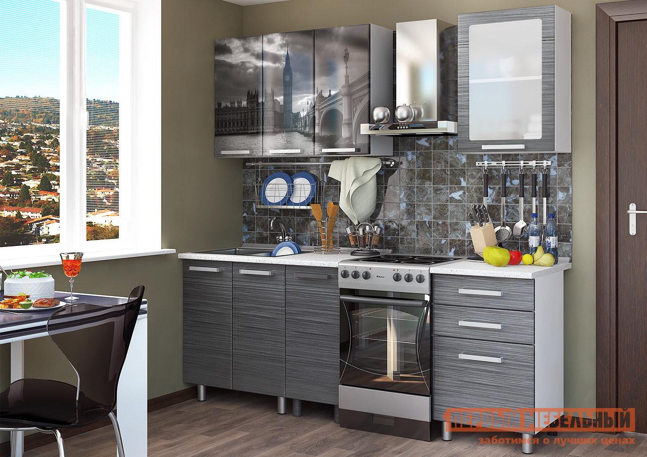 Кухонный гарнитур Первый Мебельный Лондон 1,6 м