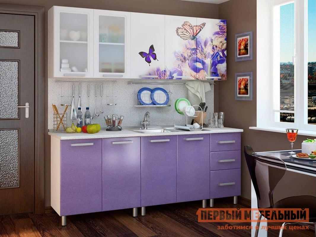 Кухонный гарнитур Первый Мебельный Ирис 200 см кухонный гарнитур трия оливия 240 см