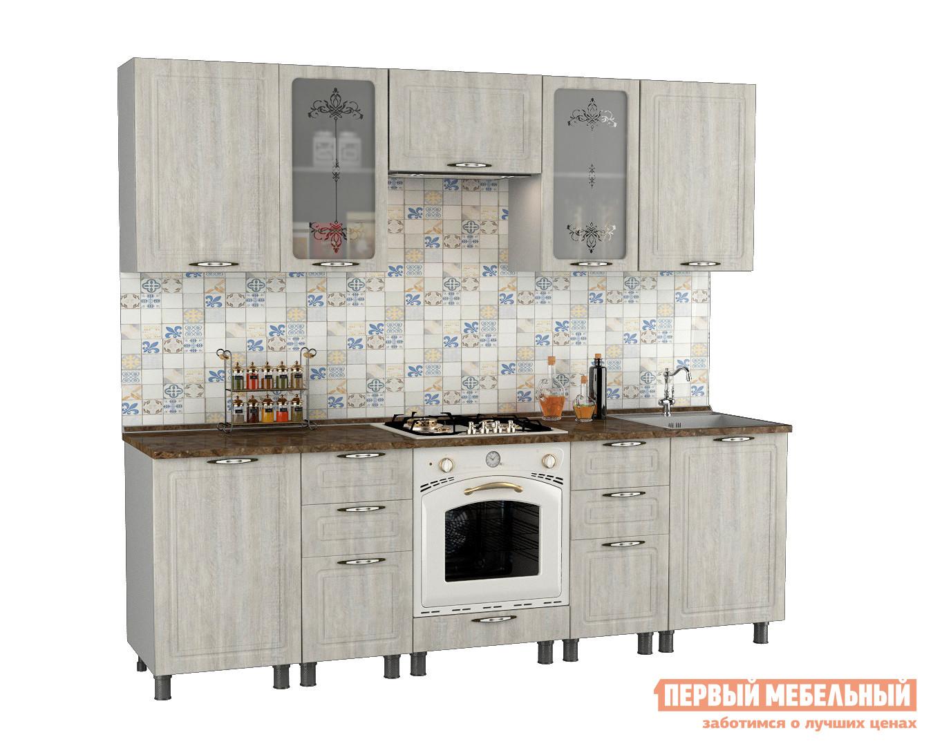 Кухонный гарнитур Первый Мебельный Прованс 2,4 м кухонный гарнитур витра палермо 300 2