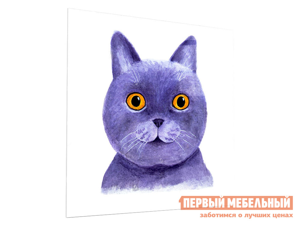 Картина Первый Мебельный Довольный кот