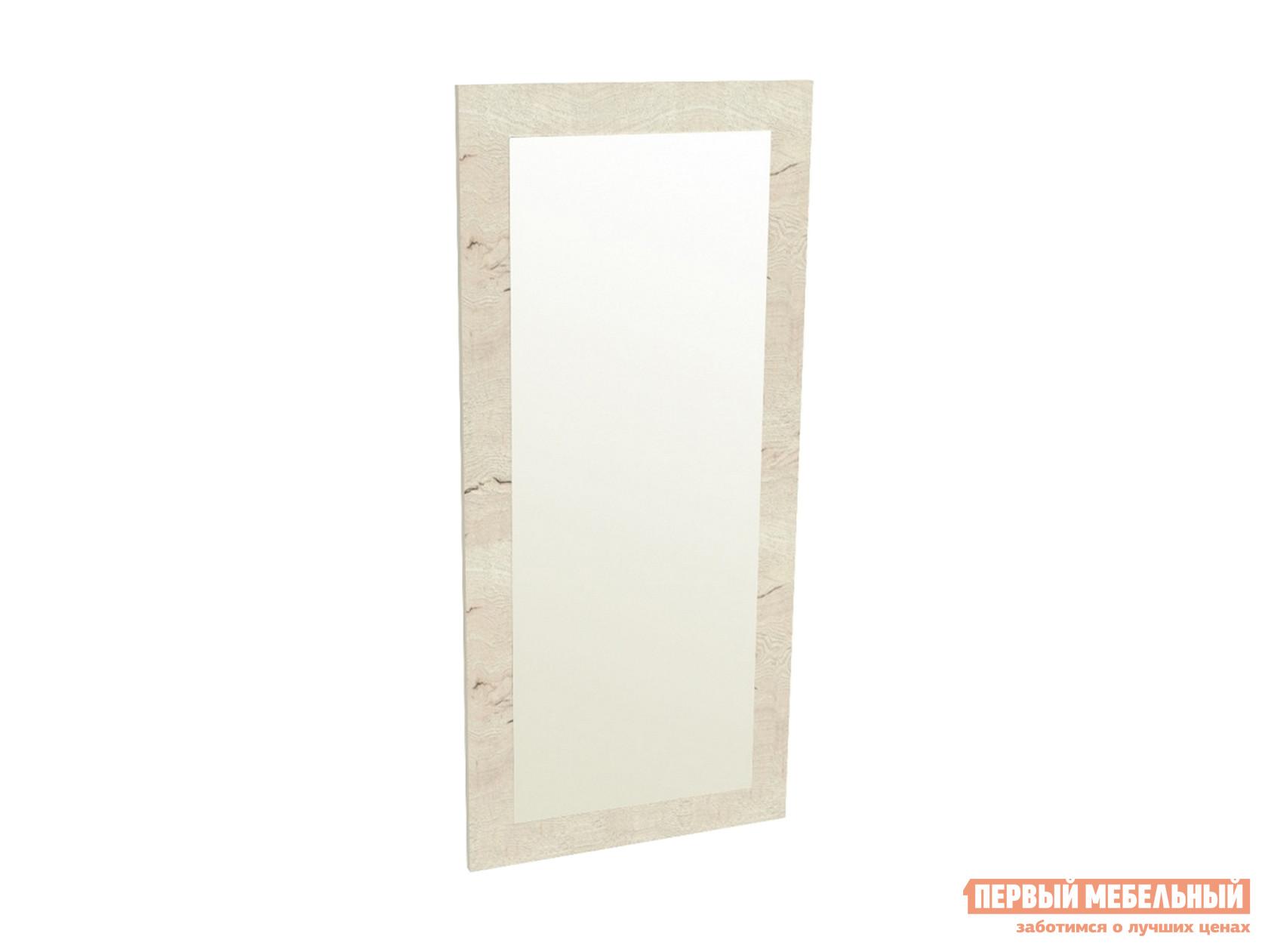 Настенное зеркало  ПМ-9 Зеркало 450 Дуб галифакс белый — ПМ-9 Зеркало 450 Дуб галифакс белый