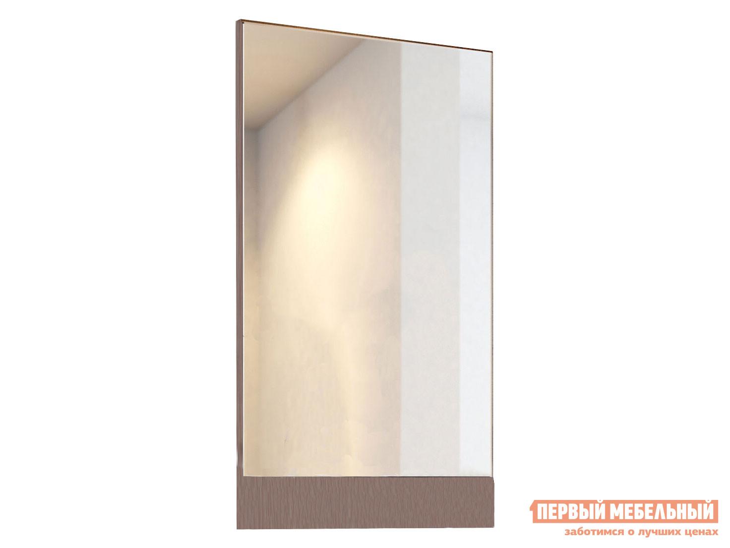 Настенное зеркало  Зеркало Ника ТВ500 Ясень Шимо темный — Зеркало Ника ТВ500 Ясень Шимо темный