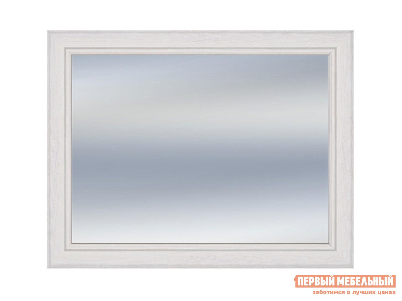 Настенное зеркало  Зеркало Неаполь Ясень Анкор светлый / Патина серебро — Зеркало Неаполь Ясень Анкор светлый / Патина серебро