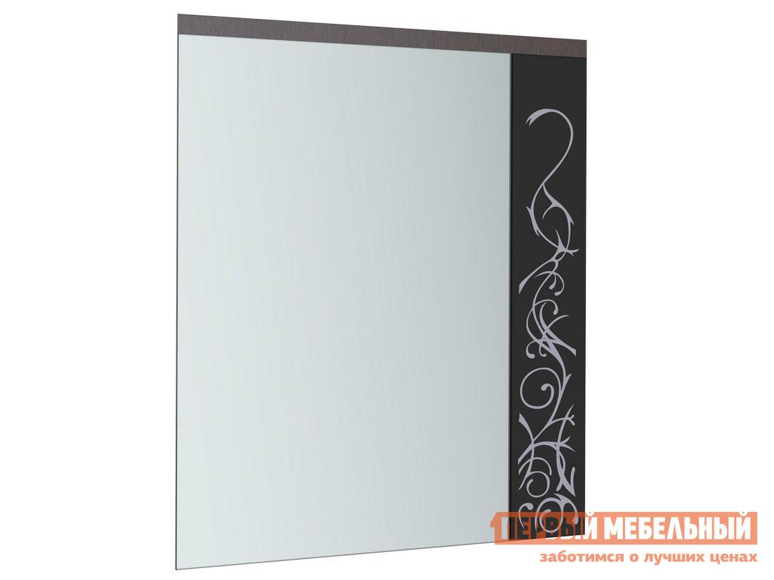 Настенное зеркало  Юнона-2 сдекором Венге / Дуб Молочный СТИЛЬ МК ООО 101453