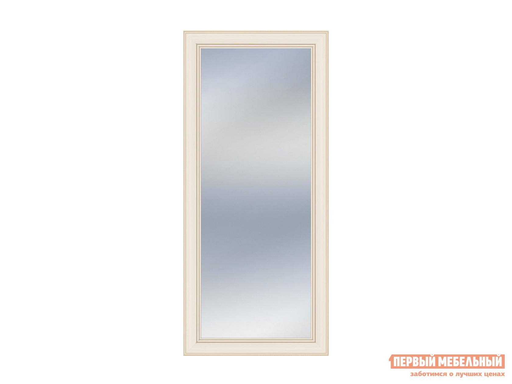 Настенное зеркало  Зеркало над тумбой Сиена Бодега белый, патина золото