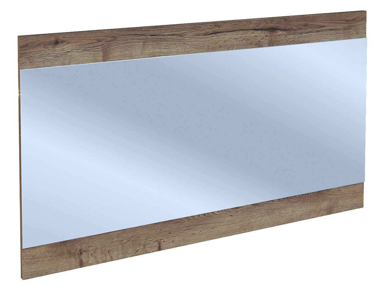 Настенное зеркало  Гарда Дуб галифакс Табак, Большой СБК 73015