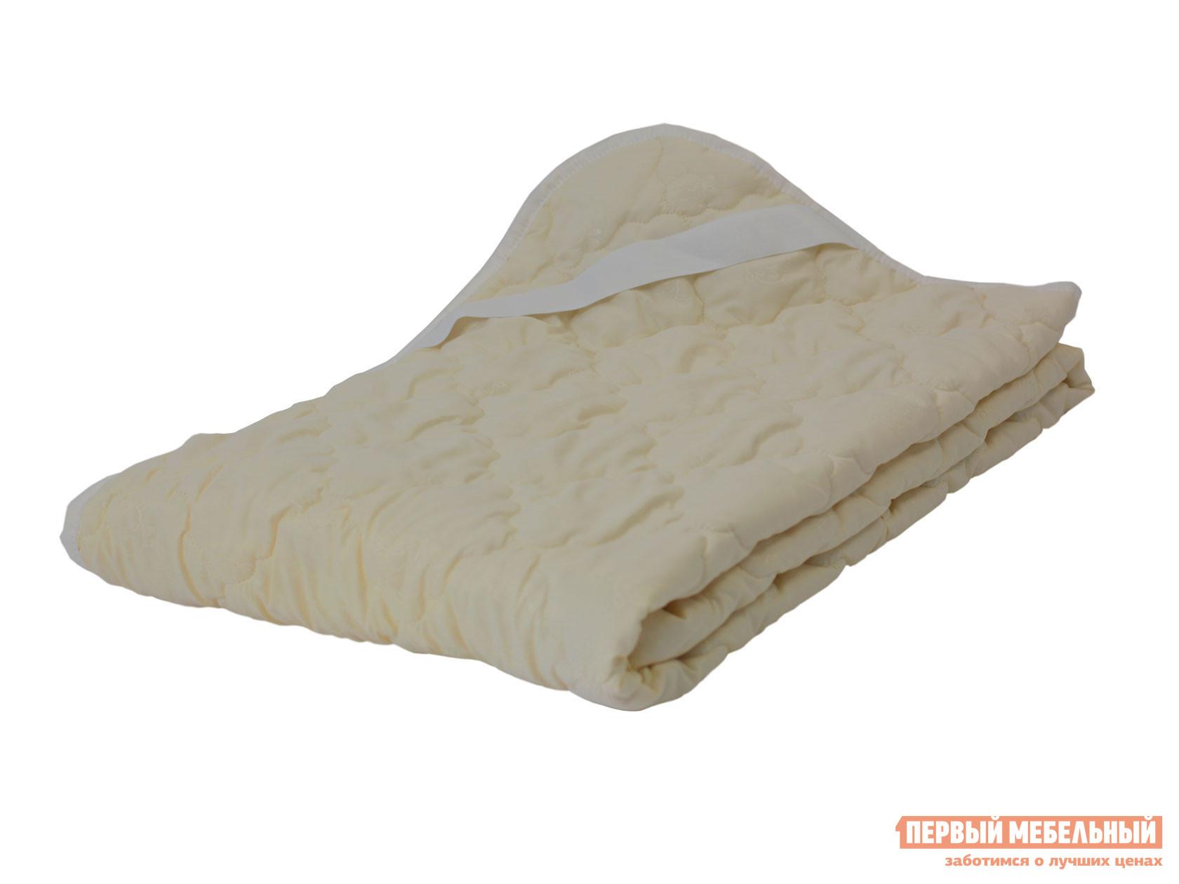 Чехол для матраса Наматрасник овечья шерсть микрофибра Молочный, 1400 Х 2000 мм фото